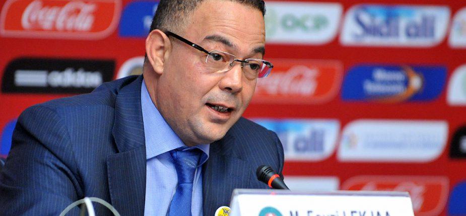 Fouzi Lekjaa confirme la démission d'Hervé Renard