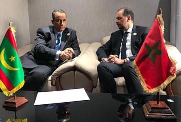 Message écrit du Président mauritanien à SM le Roi