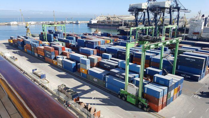 Le trafic portuaire