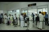 Les pèlerins de l'organisation officielle se dirigent à la Mecque dimanche