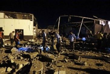 Libye: des dizaines de victimes après un raid contre un centre de migrants