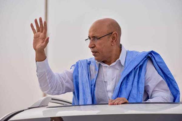 Mauritanie: Mohamed Cheikh El-Ghazouani proclamé président
