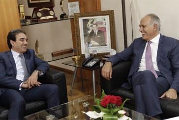 Mezouar s'entretient avec le ministre délégué en charge des MRE