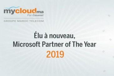 "Mycloud.ma désigné ""Country Partner of the Year"" par Microsoft"