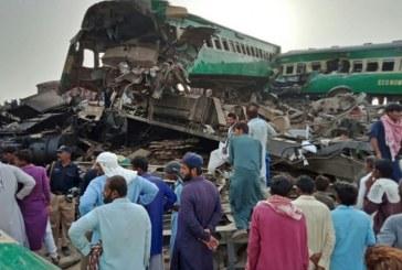 Collision entre deux trains au Pakistan: Le bilan grimpe à 23 morts et 73 blessés