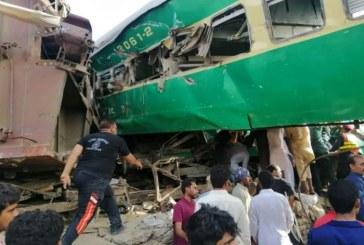 Pakistan: Au moins 9 morts dans une collision entre deux trains
