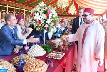 SM le Roi préside mardi au Palais Marchane à Tanger une réception à l'occasion de la Fête du Trône