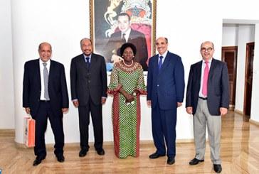 Le Sahara marocain au centre d'un entretien entre Khalihenna Ould Errachid et la Présidente du parlement ougandais