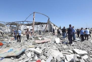 Tripoli: Neuf Marocains blessés dans le raid aérien