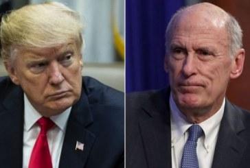 Trump annonce le départ du chef des renseignements américains le 15 août