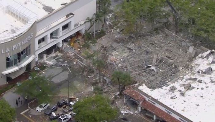 Explosion de gaz dans une zone commerciale — Floride