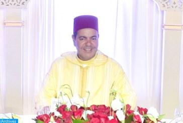 Fête du Trône: SAR le Prince Moulay Rachid préside un déjeuner offert par le chef du gouvernement