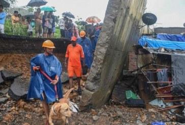 Mousson en Inde : 22 morts dans l'effondrement d'un mur (nouveau bilan)