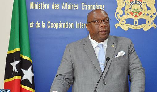 Sahara: la Fédération de Saint-Kitts-et-Nevis plaide pour le règlement du conflit dans le cadre de la souveraineté et de l'intégrité territoriale du Maroc