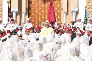 SM le Roi préside à Tétouan la cérémonie d'allégeance