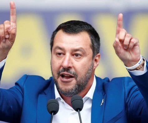 Matteo Salvini- Italie