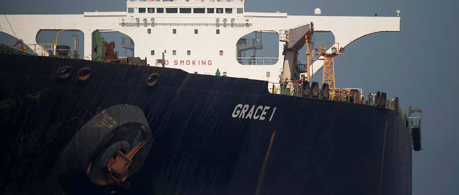 Grace I- Washington- pétrolier iranien