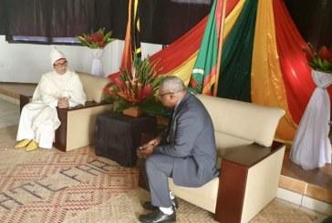 L'Ambassadeur Karim Medrek présente ses lettres de créance au Président de la République de Vanuatu