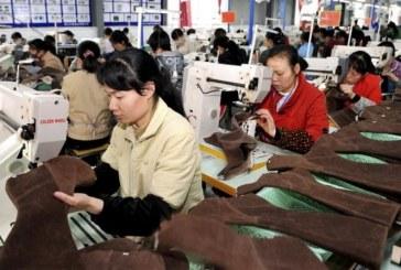 Chine : La croissance de la production industrielle au plus bas depuis 2002