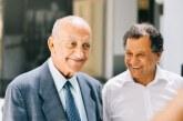 Abderrahmane Youssoufi en visite au Musée Mohammed VI d'Art Moderne et Contemporain