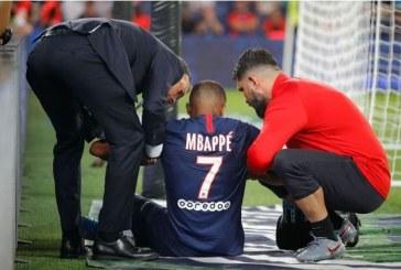 """Le PSG confirme une absence de """"4 semaines"""" pour Mbappé"""
