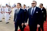 Message de félicitations à SM le Roi du Président français à l'occasion de la Fête du Trône
