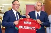FRMF: Vahid Halilhodzic recruté pour un salaire mensuel de 80.000 Euros