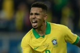 L'attaquant brésilien Gabriel Jésus suspendu deux mois en sélection