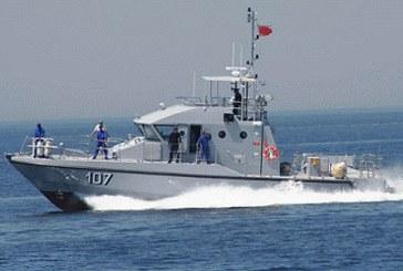 La Marine Royale porte secours à 156 candidats à la migration irrégulière