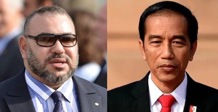 Joko Widodo- SM le Roi Mohammed VI