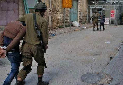 palestiniens arrêtés