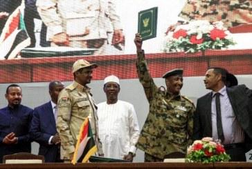 Soudan: Le Conseil militaire et le mouvement de contestation signent l'accord de transition