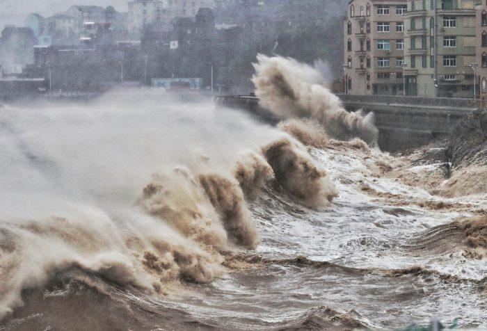 typhon - chine