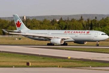 Atterrissage d'urgence d'un avion d'Air Canada à Tokyo