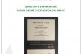 Distinction à l'international pour le Groupe Crédit Agricole du Maroc