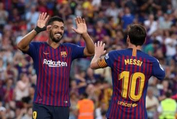 FC Barcelone: Suarez rétabli, Messi probable forfait à Dortmund