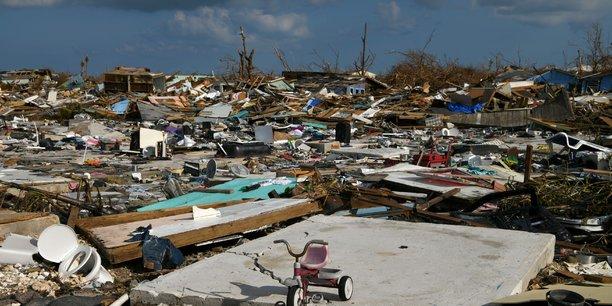 Ouragan Dorian: 3,5 à 6,5 milliards de dollars de dégâts assurés dans les Caraïbes