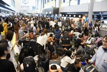 Japon : 17.000 personnes bloquées à l'aéroport de Tokyo-Narita