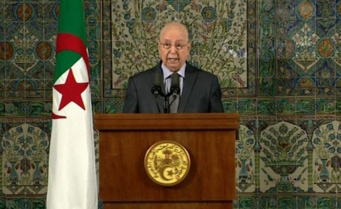 bensaleh president algerie