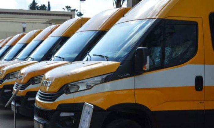 Remise de 24 bus scolaires au profit des communes rurales de la province de Guercif
