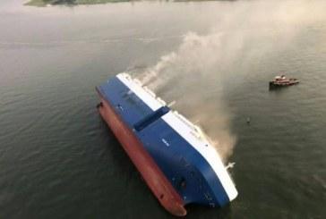 Chavirement d'un cargo sud-coréen au large de la côte est des Etats-Unis