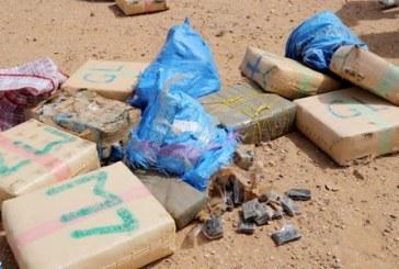 Saisie de près de 2 tonnes de chira dans une étable près d'Asilah