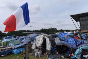 France: nouvelle évacuation d'un campement de migrants
