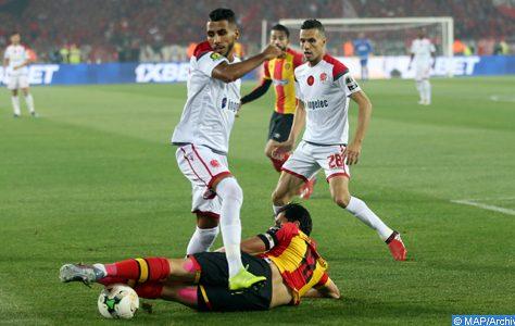 Ligue des champions (finale aller): Le Wydad Casablanca tenu en échec à Rabat par l'Espérance de Tunis (1-1) MH