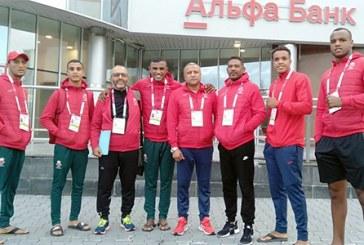 Cinq pugilistes marocains participent aux Mondiaux de boxe