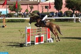 Coup d'envoi à Témara du concours officiel au titre du Grand Prix SM le Roi Mohammed VI de saut d'obstacles