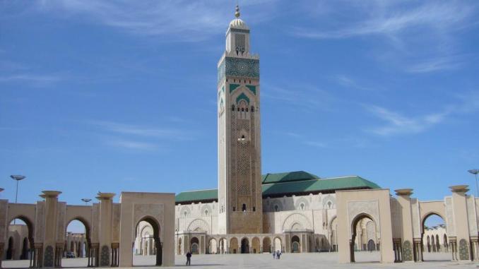La mosquée Hassan II