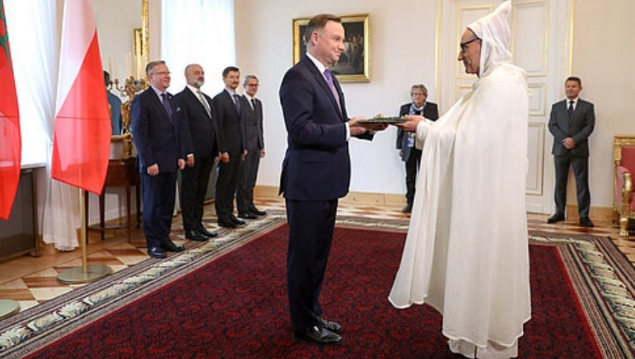 L'ambassadeur du Maroc