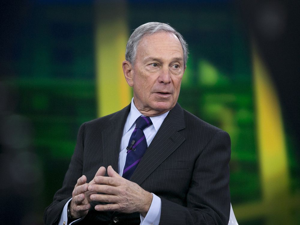 Michael Bloomberg face à Donald Trump