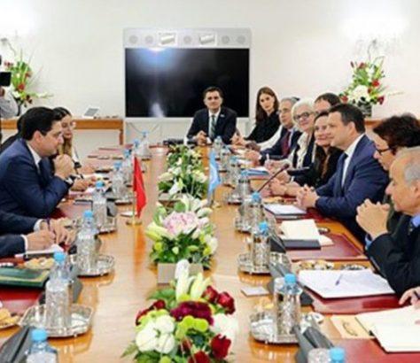 Renforcement de la coopération entre le Maroc et le SNUD